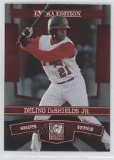 2010 Donruss Elite Extra Edition #5 Delino DeShields Jr Houston Astros Jr. Card