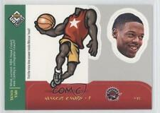 1998-99 Upper Deck UD Choice Mini Bobbing Heads #26 Marcus Camby Toronto Raptors