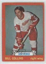 1973-74 Topps #158 Bill Collins Detroit Red Wings Hockey Card
