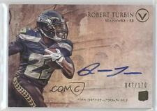 2012 Topps Valor Autograph Rookie #VA-RTU Robert Turbin Seattle Seahawks Auto