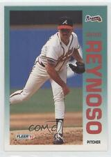 1992 Fleer #367 Armando Reynoso Atlanta Braves RC Rookie Baseball Card
