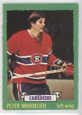 1973-74 O-Pee-Chee #164 Pete Mahovlich Montreal Canadiens Hockey Card