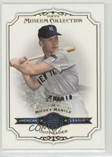 2012 Topps Museum Collection Gold #42 Mickey Mantle New York Yankees Card
