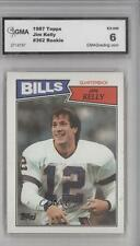 1987 Topps #362 Jim Kelly Buffalo Bills RC Rookie Football Card