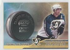 1998-99 Pacific Crown Royale Pillars of the Game #1 Teemu Selanne Hockey Card