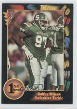 1991 Wild Card Draft #102 Bobby Wilson Michigan State Spartans Rookie Football