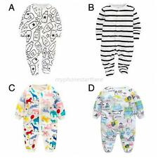 Infant Baby Kids Warm Cartoon Romper Boy Girl Jumpsuit Bodysuit Clothes Outfits