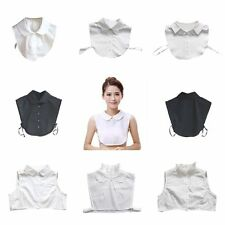 Women Detachable Peter Pan Lapel Shirt Fake False Collar Choker Necklace New