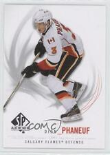 2009-10 SP Authentic #68 Dion Phaneuf Calgary Flames Hockey Card