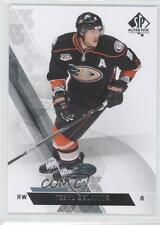 2013-14 SP Authentic #144 Teemu Selanne Anaheim Ducks (Mighty of Anaheim) Card