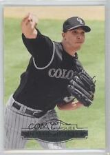 2011 Topps Marquee #66 Ubaldo Jimenez Colorado Rockies Baseball Card