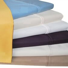 "Real 600TC 100% Egyptian Cotton Ultra Soft Solid 4PC Sheet Set 14""Deep CA Size"
