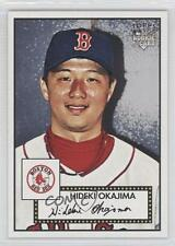 2007 Topps '52 #100 Hideki Okajima Boston Red Sox RC Rookie Baseball Card