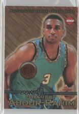 1997 Collector's Edge Game Used Ball #3 Shareef Abdur-Rahim Vancouver Grizzlies