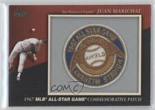 2010 Topps Manufactured Commemorative Patch #MCP20 Juan Marichal Baseball Card