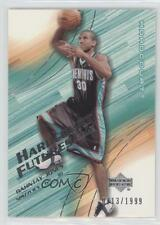 2003-04 Upper Deck Hardcourt 104 Dahntay Jones Memphis Grizzlies Basketball Card