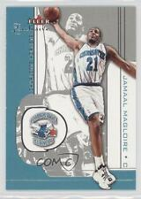 2001-02 Fleer Exclusive #87 Jamaal Magloire Charlotte Hornets Basketball Card