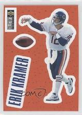 1996 Upper Deck Collector's Choice Stick-Ums #S10 Erik Kramer Chicago Bears Card