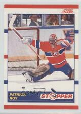 1990-91 Score Bilingual #344 Patrick Roy Montreal Canadiens Hockey Card