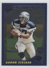 2000 Topps Chrome #227 Aaron Stecker Scottish Claymores (NFL Europe) RC Card