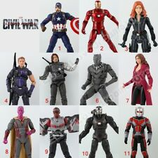 Civil War Captain America Iron Man Winter Soldier Ant-Man Hawkeye PVC Figure NB