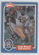 1988 Swell Football Greats Hall of Fame #84 Bobby Mitchell Washington Redskins