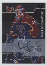 2001-02 In the Game Be A Player Signature Series #088 Milan Hnilicka Auto Card