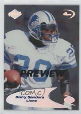 1998 Collector's Edge Odyssey Preview #237 Barry Sanders Detroit Lions Card