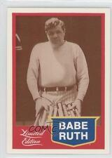 1989 CMC Limited Edition #4 Babe Ruth Boston Braves Baseball Card