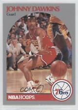 1990-91 NBA Hoops #227 Johnny Dawkins Philadelphia 76ers Basketball Card