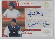 2011 Playoff Contenders #7 Chad Comer Jason Krizan Detroit Tigers Auto Card