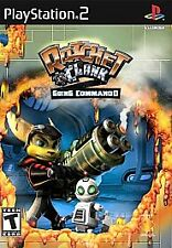 Ratchet And Clank Going Commando PS2 Playstation 2 Game *complete