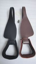 Yesrd Replacement Saddle Fenders with Stirrup Leather Two Colors