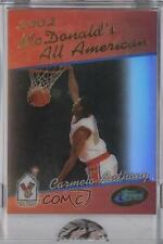 2006-07 eTopps McDonald's All American #CAAN Carmelo Anthony Basketball Card