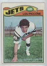 1977 Topps #333 Lou Piccone New York Jets RC Rookie Football Card
