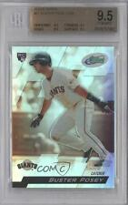2010 eTopps 21 Buster Posey BGS 9.5 San Francisco Giants RC Rookie Baseball Card