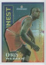 1995-96 Topps Finest Mystery Borderless Refractor/Gold #M8 Chris Webber Card
