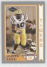 2006 Press Pass Collectors Series Old School #OS8 Joseph Addai Football Card