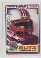 1984 Topps USFL #18 Vagas Ferguson Chicago Blitz (USFL) Football Card