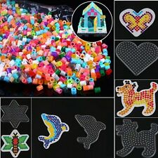 Clear Perler Hama Beads Funny Peg Board Pegboard DIY Template Creative Toy Craft