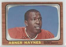 1966 Topps #35 Abner Haynes Denver Broncos Football Card