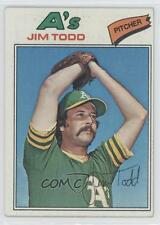 1977 Topps #31 Jim Todd Oakland Athletics Baseball Card
