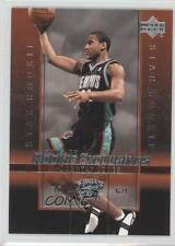 2003-04 Upper Deck Rookie Exclusives #16 Dahntay Jones Memphis Grizzlies Card