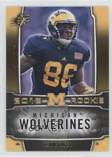 2012 SPx #168 Kevin Koger Michigan Wolverines RC Rookie Football Card
