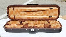 New Full Size Rectangular Deluxe Violin Case (4/4)