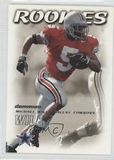 2000 Skybox Dominion #206 Michael Wiley Dallas Cowboys Ohio State Buckeyes RC
