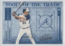 2003 Playoff Absolute Memorabilia Tools of the Trade #TT-65 Greg Maddux Card