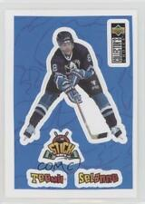 1996-97 Upper Deck Collector's Choice Stick-Ums #S13 Teemu Selanne Hockey Card