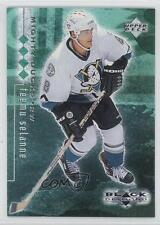 1998-99 Upper Deck Black Diamond Quadruple #2 Teemu Selanne Hockey Card