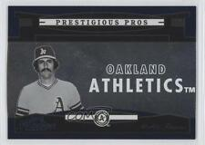2005 Playoff Prestige Prestigious Pros Blue #PP-74 Rollie Fingers Baseball Card